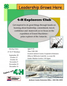 Cover photo for Leadership Grows Here! - 4-H Explorers Club