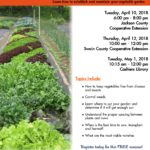 Seminar flyer image