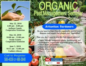 Cover photo for Organic Pest Management in Your Garden Seminar
