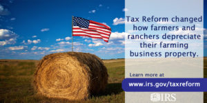 Cover photo for Tax Reform: Changes for Farmers