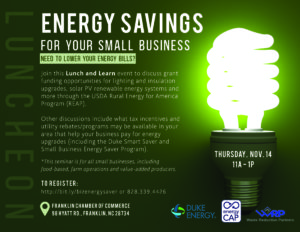 Cover photo for Energy Saving Seminar for Farms and Rural Business