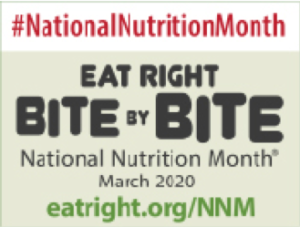 Cover photo for National Nutrition Month