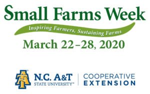 Cover photo for Small Farms Week