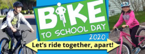 Cover photo for Bike to / at School Day 2020