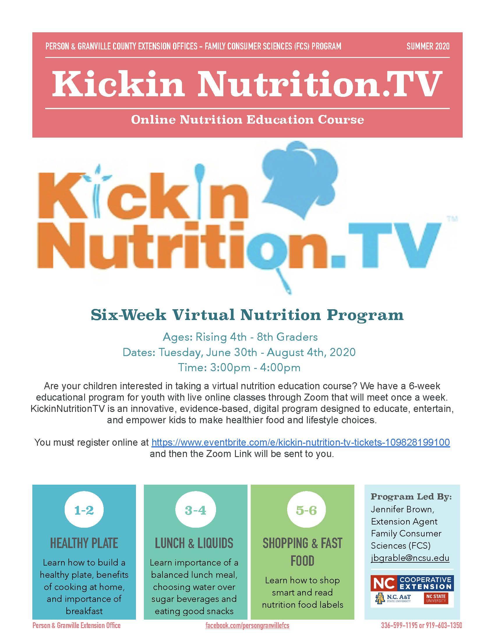 Kickin Nutrition TV