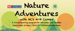 Cover photo for Nature Adventures With NC 4-H Camps