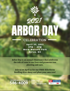 Cover photo for 2021 Arbor Day Celebration