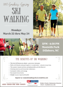 Cover photo for 2021 Smokies Spring SKI  WALKING