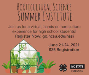 Cover photo for Horticultural Science Summer Institute